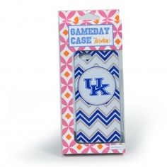 Kentucky Wildcats Chevron Print iPhone 5 Case, get it at TotallyCollegiate.com!