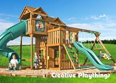 Creative Playthings manufactures and sells the highest quality outdoor swing sets and playsets on the market today. See our swing set collection Walpole Outdoors, Outdoor Swing Sets, Wooden Playset, Playhouse Outdoor, Flower Boxes, Play Houses, Pergola, Backyard, Exterior