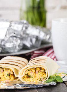 Make Ahead Southwest Breakfast Burritos couldn't be easier or more delicious! These easy make ahead breakfast burritos are the perfect meal to take camping or freeze for busy mornings before school! Make Ahead Breakfast Burritos, How To Make Breakfast, Breakfast Recipes, Camping Food Make Ahead, Camping Meals, Side Recipes, Healthy Recipes, Dairy Free Pancakes, Campfire Desserts
