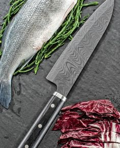 Zum Grillen gehören gute Messer...