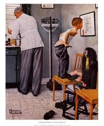Norman Rockwell captured the spirit of American's lives!