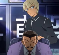 Amuro and Kogoro Detective Conan 名探偵コナン 毛利小五郎&安室透