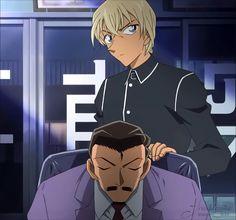 Amuro and Kogoro Detective Conan 名探偵コナン