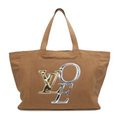 Louis Vuitton Canvas Thats Love GM Tote - modaselle