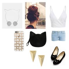 """""""cat"""" by burusa2 ❤ liked on Polyvore featuring beauty, Forever 21, Skinnydip, Alexis Bittar, Paul & Joe and Casetify"""