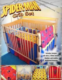 Spiderman Crib Bedding Crib Bedding Superman Nursery
