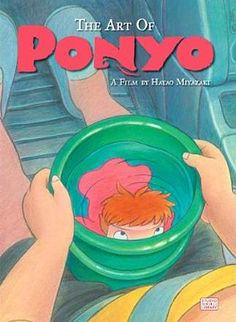 Art of Ponyo on the Cliff by the Sea - Hayao Miyazaki Anime Art Books, Book Art, Diamond Comics, T Art, Hayao Miyazaki, Book Illustration, Illustrations, Studio Ghibli, Cliff