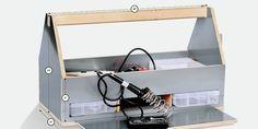 Make an A-Frame Toolbox Cedar Pergola, Pergola With Roof, Backyard Pergola, Pergola Plans, Diy Patio, Small Pergola, Pergola Ideas, Patio Ideas, Modern Pergola