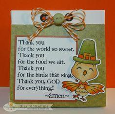 The Cricut Bug: Thanksgiving Treat Bag