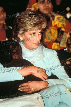 C/n 021635 2-21-1996 Princess Diana in Lahore, Pakistan Photo By:alpha-Globe Photos, Inc
