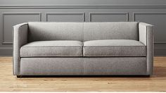 $1799.10 - Club Grey Queen Sleeper Sofa 77x35.5x29 (Many other fabrics available) 9-12 weeks!!!!