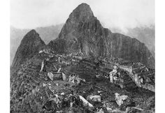 First Photo Of Machu Picchu, 1912
