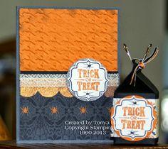 Stylin' Stampin' INKspiration: Creepy, Crawly Halloween Ideas
