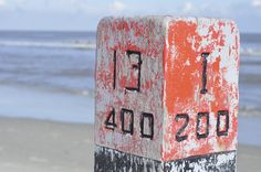 strandpaal Ameland