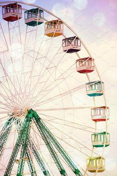 Check out Ferris Wheel Jersey shore by Kay English on Creative Market