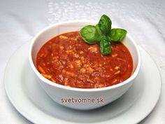 Tofu omáčka na špagety • Recept   svetvomne.sk Tofu, Ethnic Recipes