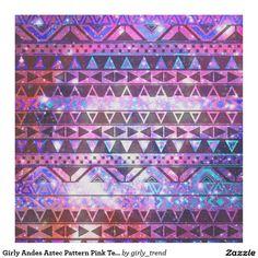 Galaxie turquoise de nébuleuse des Andes de rose Tissu