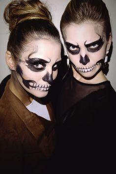easy-halloween-skeleton-makeup