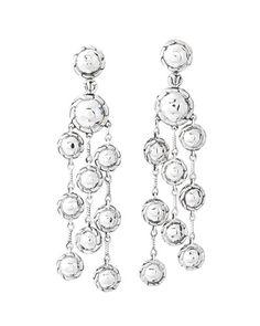 John Hardy Silver Chandelier Earrings