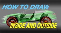 HOW TO DRAW ^ INSIDE AND OUTSIDE time-lapse complete