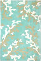 Plush abstract Rug Hand Tufted Turquoise Blue and White. The Coral fixation rugs are plush, and a great value. These contemporary hand tufted rugs are gorgeous! Coastal Rugs, Coastal Style, Coastal Decor, Coastal Living, Coastal Bedding, Florida Living, Modern Coastal, White Area Rug, Blue Area Rugs
