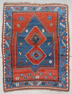 Antique Caucasian Rugs Kazak