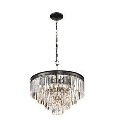 ELK 14213/4+1 Palacial 5 Light 20 inch Oil Rubbed Bronze Pendant Ceiling Light #LightingNewYork