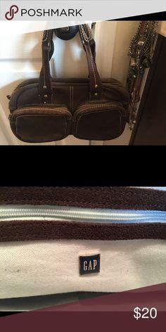 Gap Genuine Suede Brown handbag Dark Brown Geniune Suede from Gap! GAP Bags Satchels