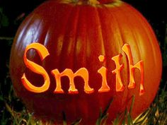 Great Pumpkin carving idea. Might use this idea during an engagement photo shoot!