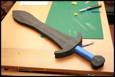 How to make foam weapons