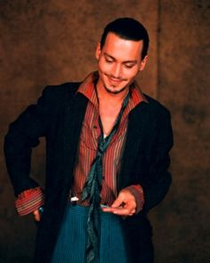 Johnny Depp.  Chocolat was a brilliant movie.