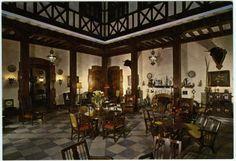 Visor Archivo General Región de Murcia. FOT_POS,04/151 / Hall del Hotel Victoria de Murcia. c. 1965