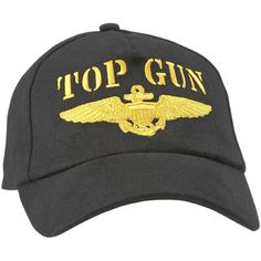Deal of the Day!Today's special is our Top Gun with Gold Navy Wings Cap. Was $12.99/ Now $9.99