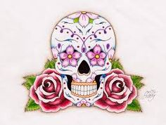 mexican skull tattoos - Google Search