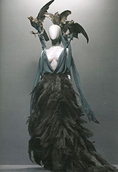"Alexander McQueen ***COSTUME DESIGN/INSPIRARIOM FOR ""MALEFISCENT MOVIR (2014)"