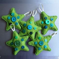ideas for felt christmas decorations - Pesquisa Google