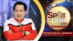 Watch another episode of Pastor Apollo C. Quiboloy's newest program, SPOTLIGHT. For your messages and queries, you can comment it down below so our Beloved P. Spiritual Enlightenment, Spirituality, Kingdom Of Heaven, T Lights, New Program, January 26, Son Of God, Wallpaper Free Download, Jerusalem