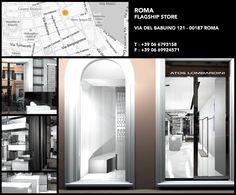 #ATOSLOMBARDINI Flagship #Shop - Via del Babuino 121 . 00187 #Roma . Italy . Opening September 2013 - Tel  +39 06 6793158