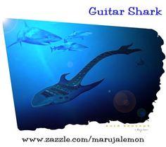 Guitar Shark Sharks, Guitars, Shark, Guitar