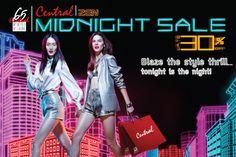 Central Midnight Sale  28 ก.พ. – 5 มี.ค. 56    แสง สี เซล... จัดเต็ม! ลดล้ำก่อนใคร