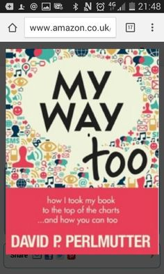 My fourth book MY WAY TOO is now available on Amazon! #BOOKMARKETING