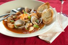 Holiday Cioppino // This is a simplified version of the classic Italian seafood stew!