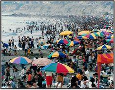 Dream beach in Peru