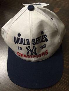 Ny Yankees World Series 1998 Championship Baseball Cap #NewYorkYankees