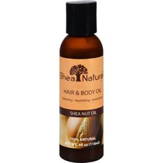 Shea Natural Massage and Body Oil - Shea Nut Oil - 4 oz
