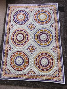 Ravelry: Summer Mosaic Afghan pattern by Julie Yeager