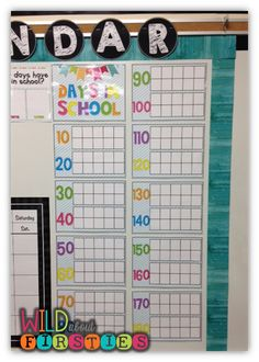 Wild About Firsties!: Setting Up Your Calendar! {and it's all FREE!}