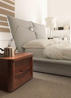 SMA Mobili Abbraccio bed with adjustable headboard UK   Robinsons Beds