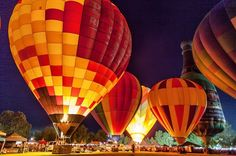 Hot Air Balloon Festival in Temecula, California