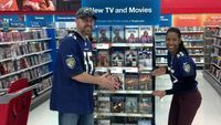 """The AWESOME Mingo-Moss couple!  Filmmaker Monica Mingo and her new movie """"The Coalition"""" available in stores now!"""